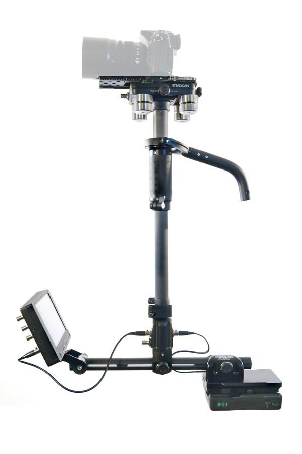 Steadicam AERO-A15 AERO Sled with Monitor, A-15 Arm, and SOLO Vest AERO-A15