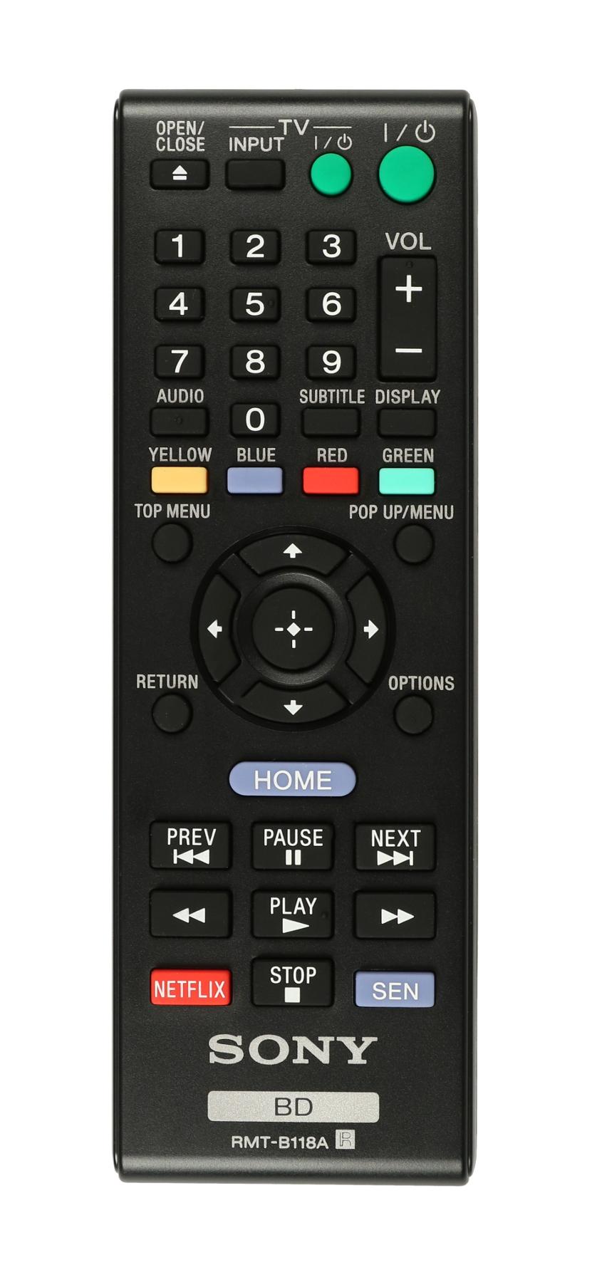 BDP-S185 Remote