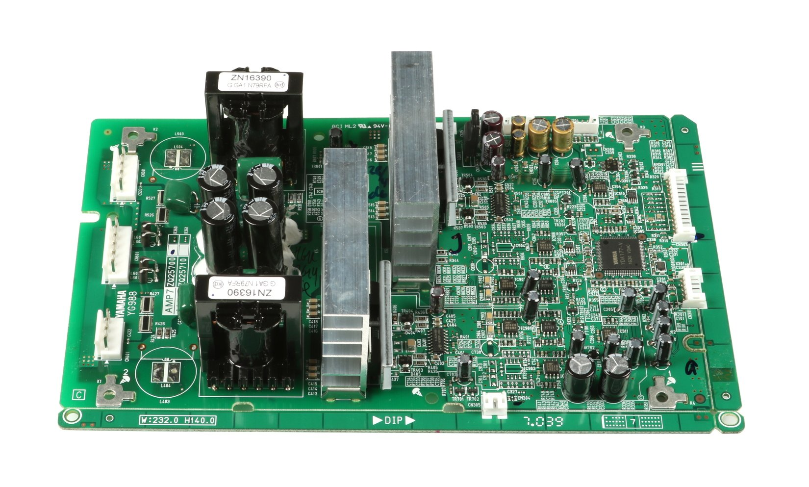 Amp PCB Assembly for EMX7