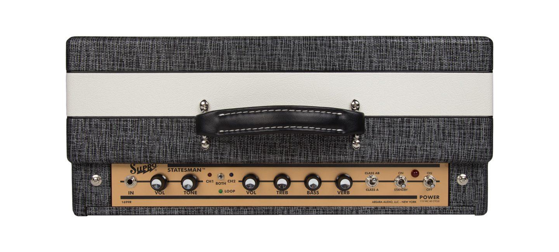 Supro 1699R Statesman 2-Channel 50-watt Tube Combo Amp STATESMAN-COMBO