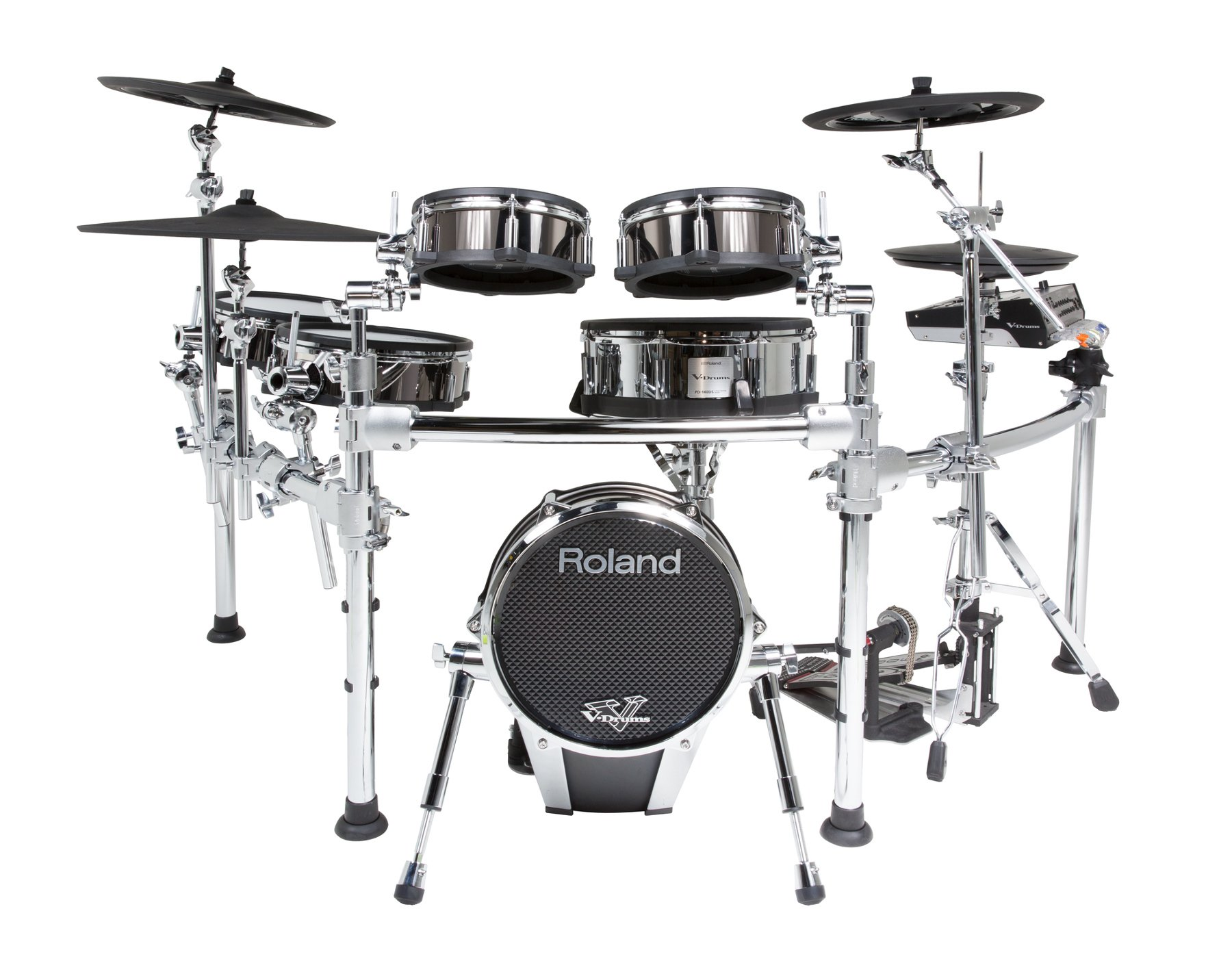 6-Piece V-Drum Kit with FREE PD-108-BC Pad and MDH-25 Mount
