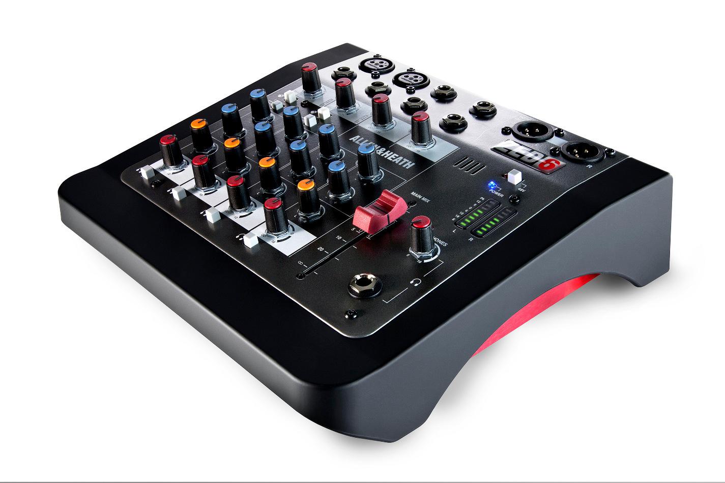 Compact 6 Input Analog Mixer