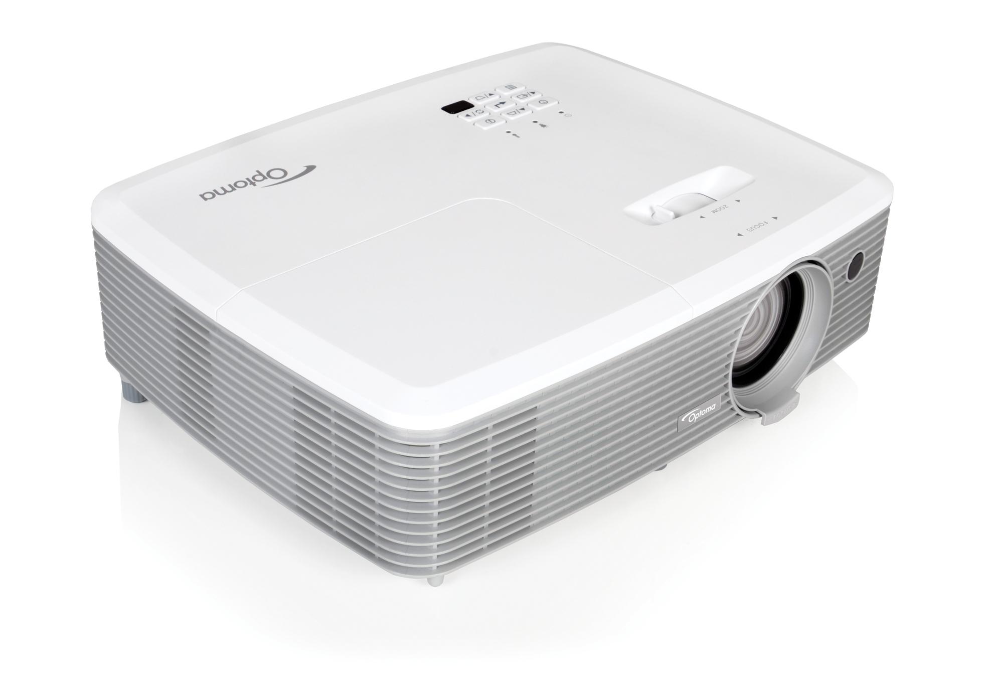 4000 Lumen 1080p Full 3D Desktop Projector