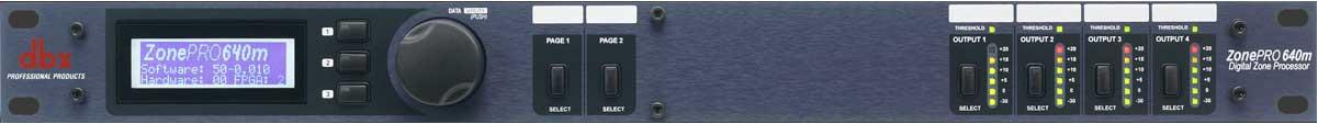 6x4 Digital Zone Processor