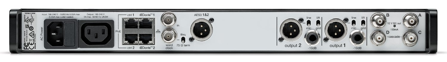 Axient Digital Two-Channel Receiver