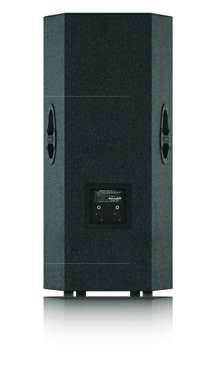 "Professional 2000-Watt PA Speaker with Dual 15"" Woofers and 1.75"" Titanium-Diaphragm Compression Driver"