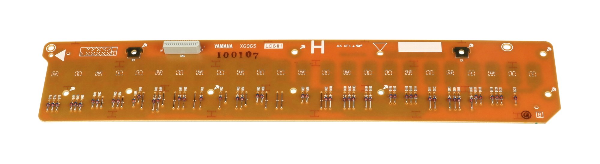 High Contact PCB for MO6
