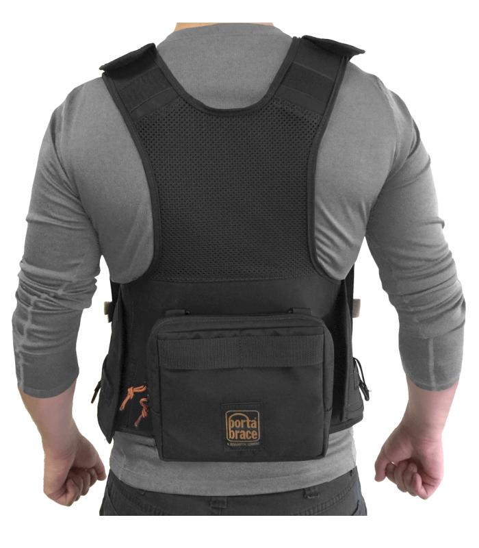 Audio Tactical Vest for Sound Devices 633, Black