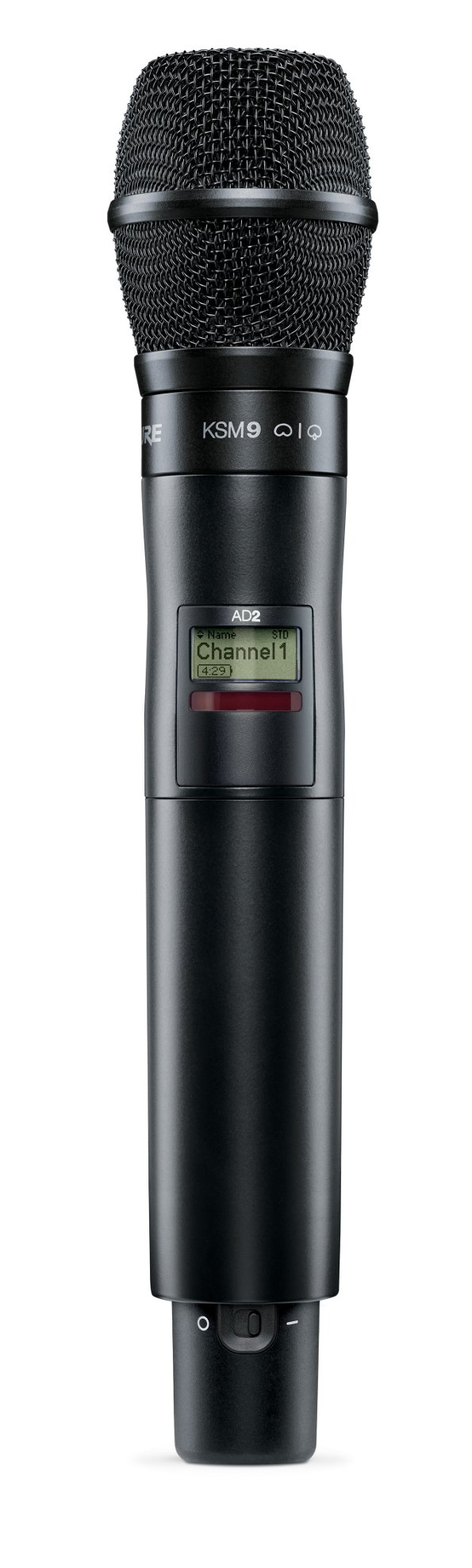 Axient Digital Handheld Transmitter with KSM9 Capsule in Black