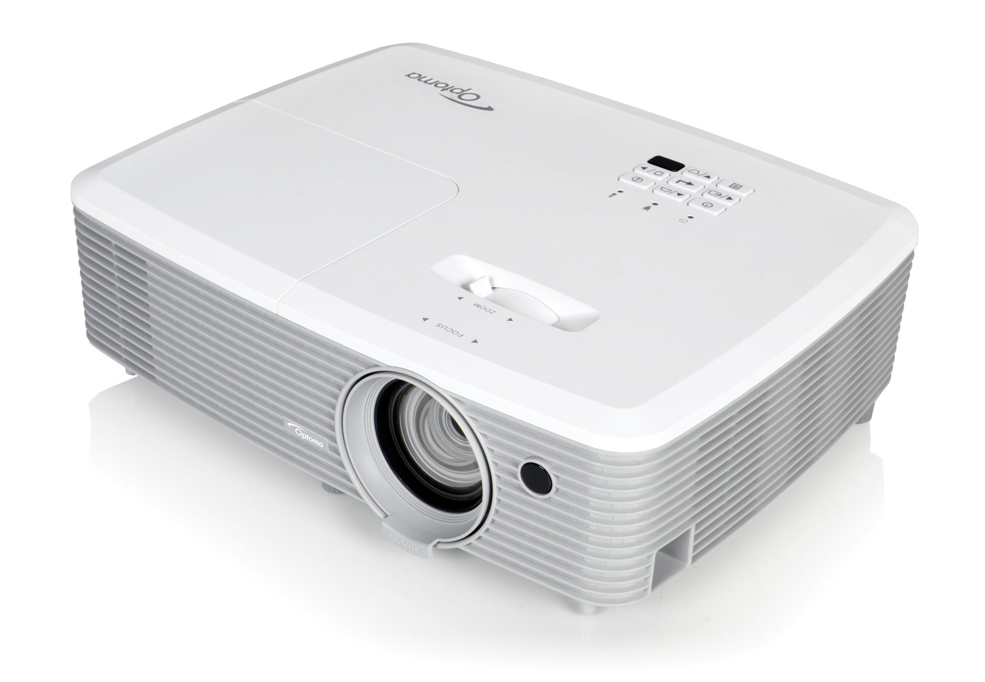 4000 Lumen XGA Projector with I/O and 1.3x Zoom Lens