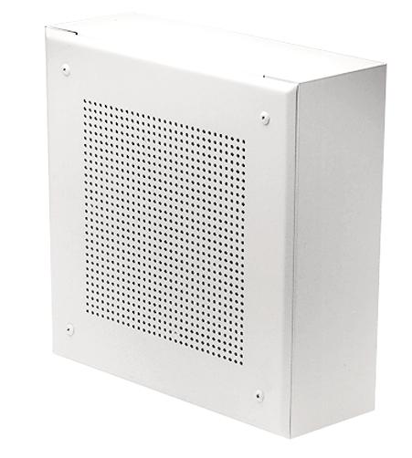 """Bi-directional Steel Baffle for 8"""" Speaker, White"""