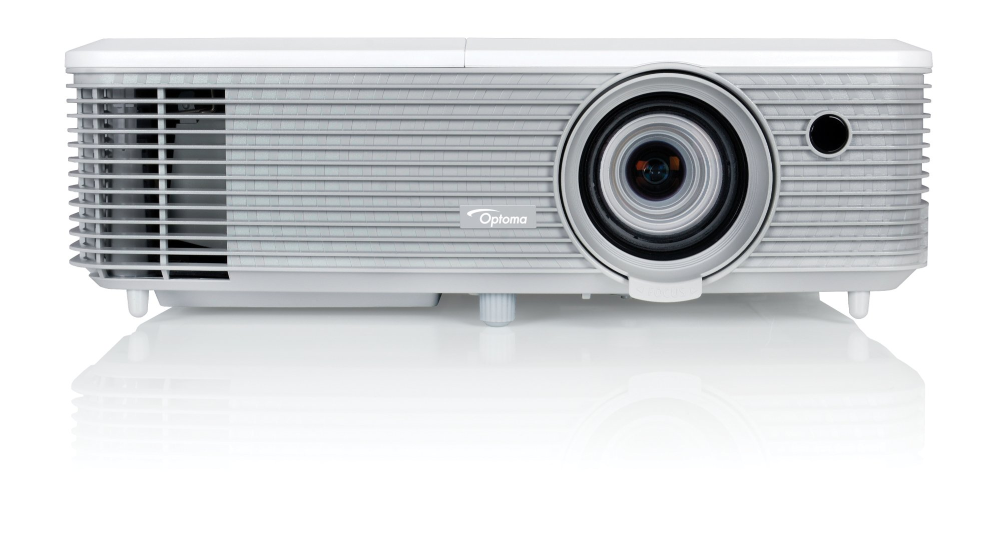 Optoma W400+ 4000 Lumen WXGA Presentation Projector with I/O and Zoom Lens W400+