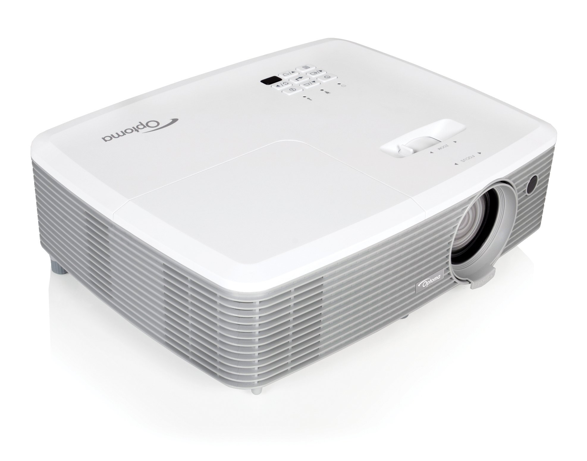 4000 Lumen WXGA Presentation Projector with I/O and Zoom Lens