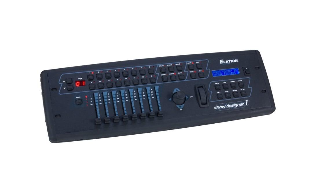 Intelligent DMX Lighting Controller