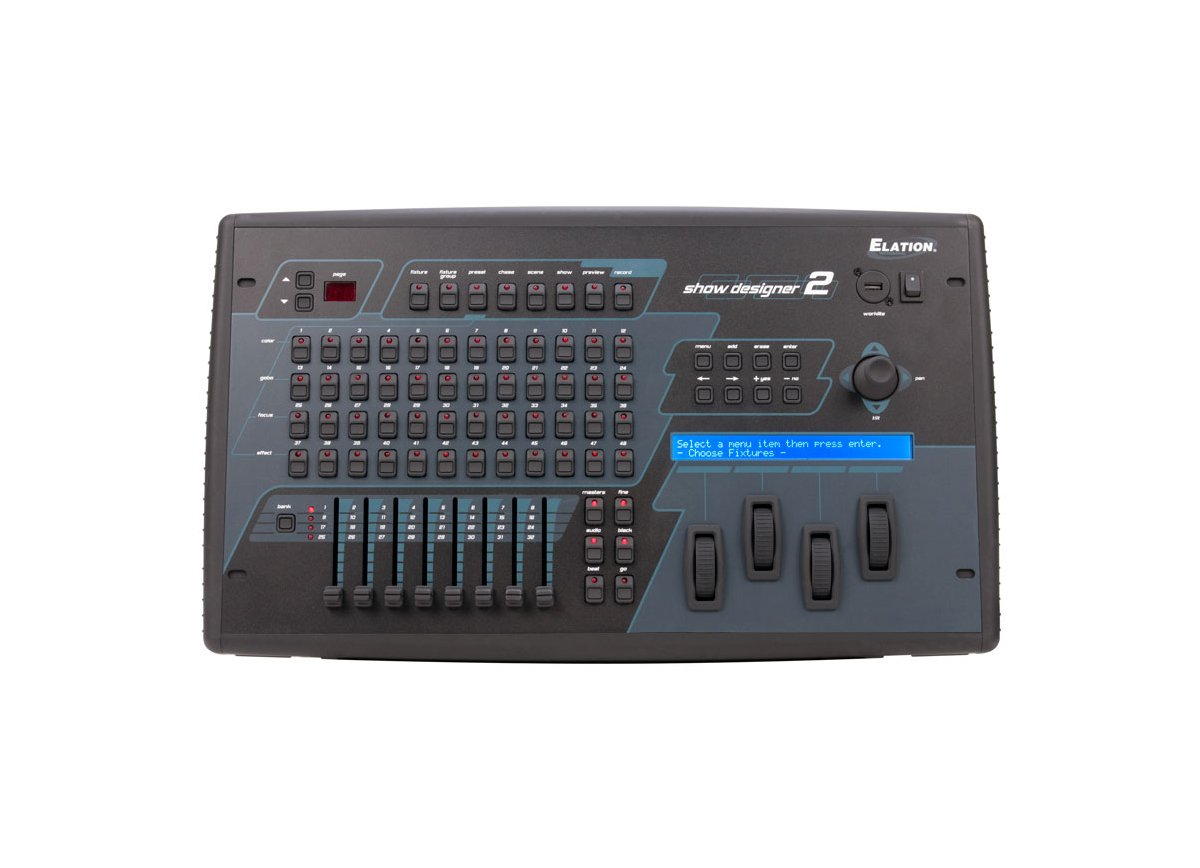 1024 DMX Channel Lighting Controller with Compact Flash Drive