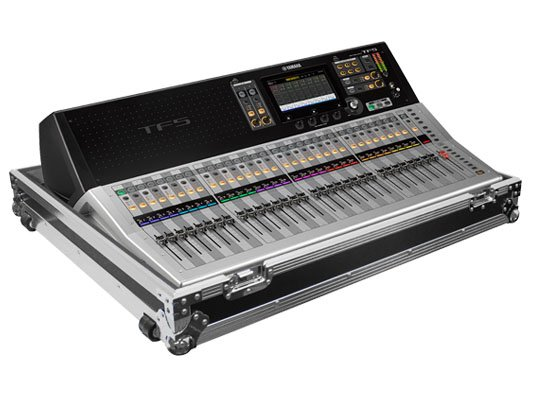 Flight Zone Case with Wheels for Yamaha TF5 Mixing Console