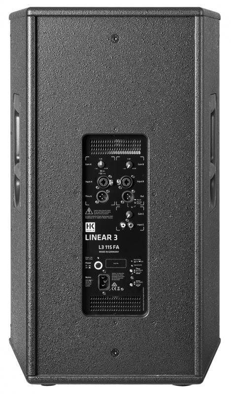 """Linear 3, 15"""" 2-Way Active Speaker"""