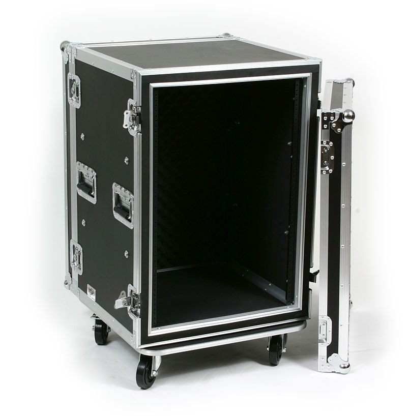 16RU ATA Shock Amp Rack with Casters