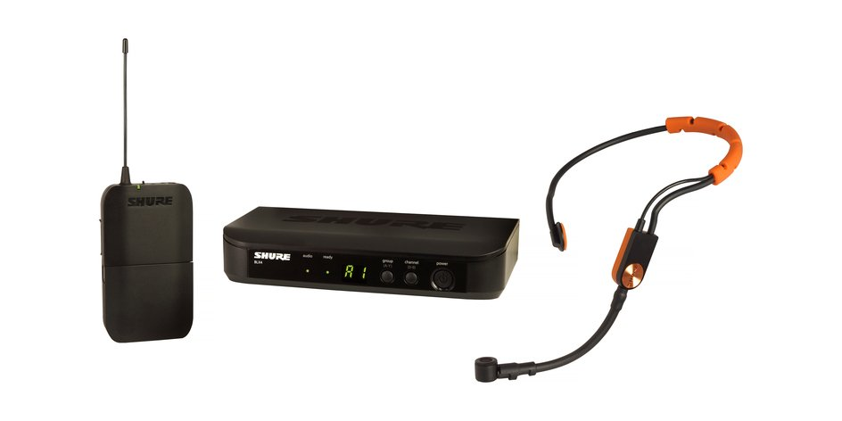 Wireless Headset System With SM31 Microphone, 512 - 542 MHz