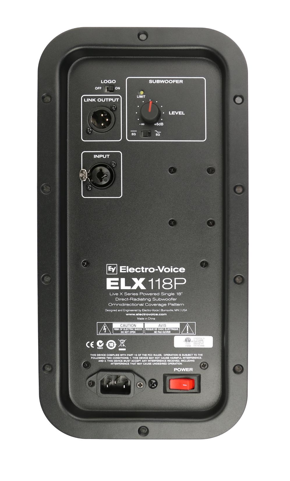 Amp Assembly for EV ELX118
