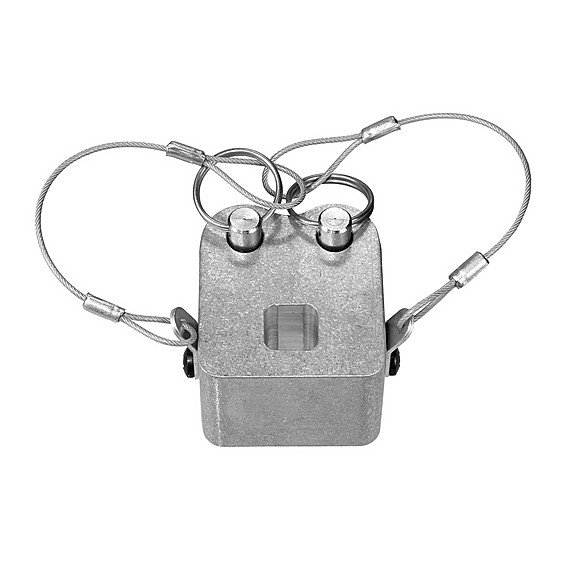 Silver CPC Coupler Chain Mount