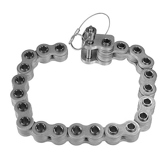 Silver Chain Pole Clamp Extension Kit