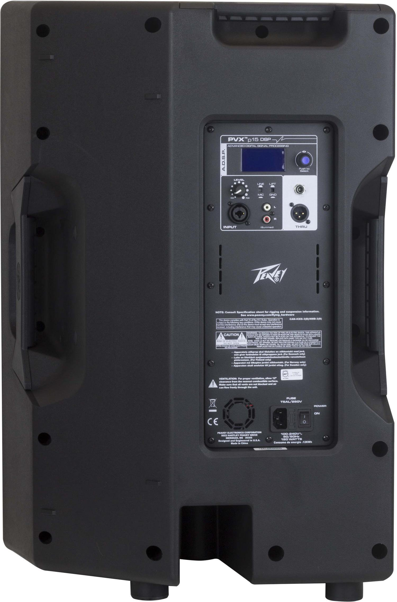 """Monitor Floor 2 Way 15"""" Powered with DSP"""