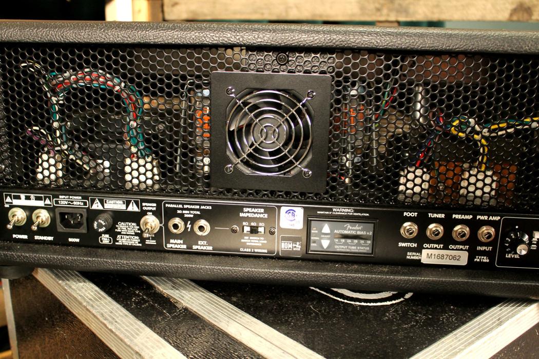 300W Bass Amplifier Head in Black / SIlver