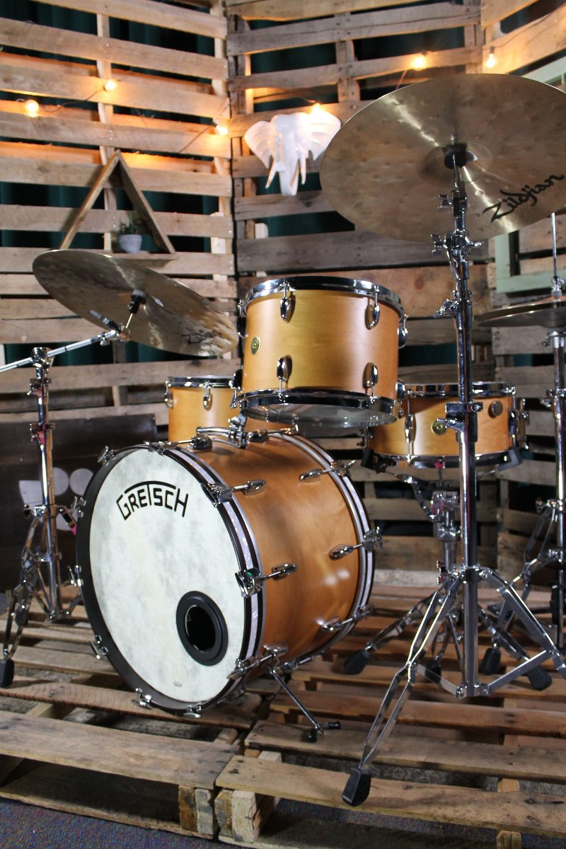 4-Piece Shell Pack with Satin Classic Maple Finish