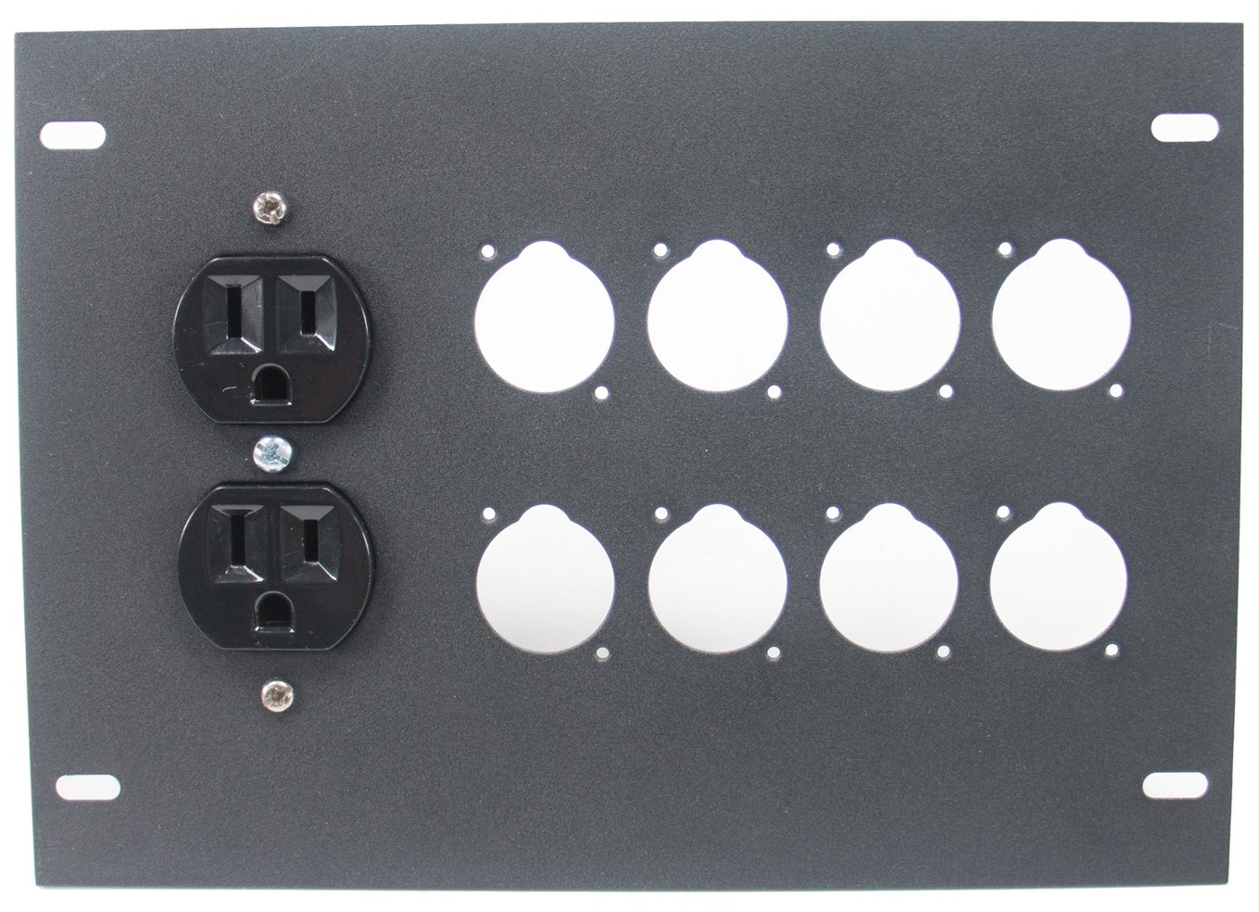 Insert Plate for FBL Series Floor Boxes, with AC Duplex - No Connectors