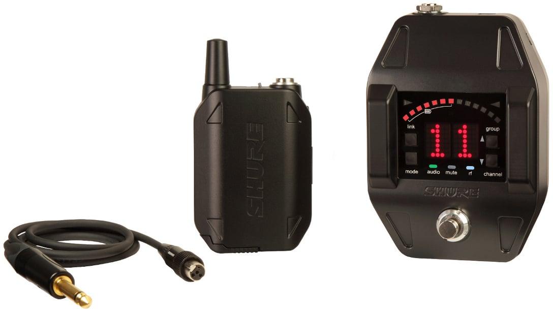 GLX-D Series Digital Wireless Guitar/Bass Pedal System