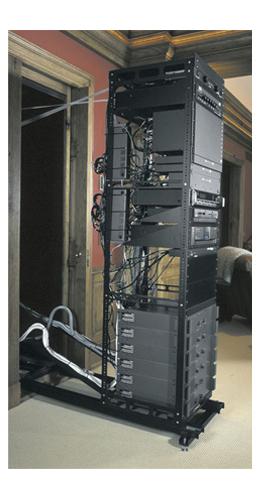 """Middle Atlantic Products SSAX-18  18RU 16"""" Deep AXS Series Rack SSAX-18"""