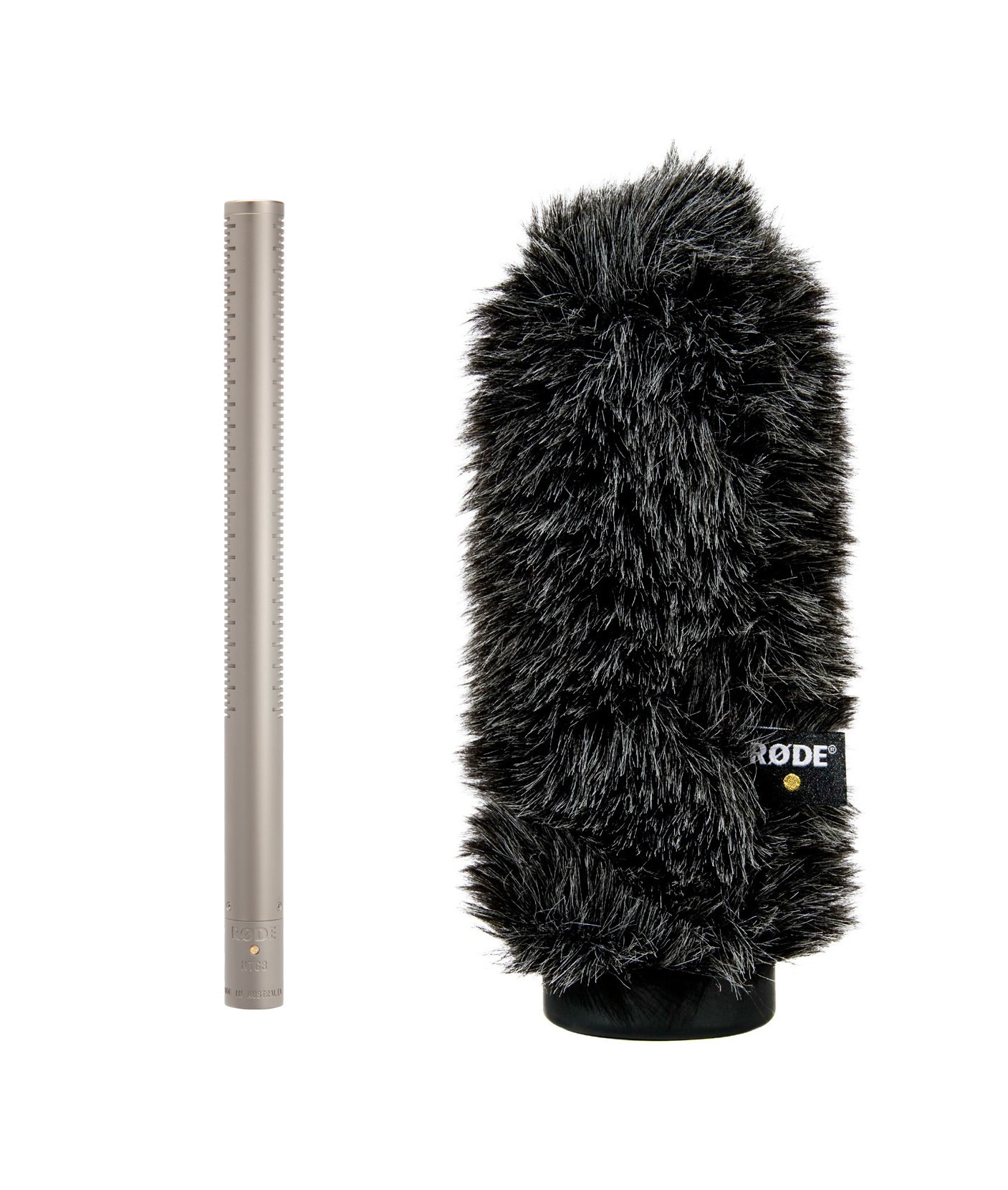 Shotgun Microphone Package with WS7 Windshield