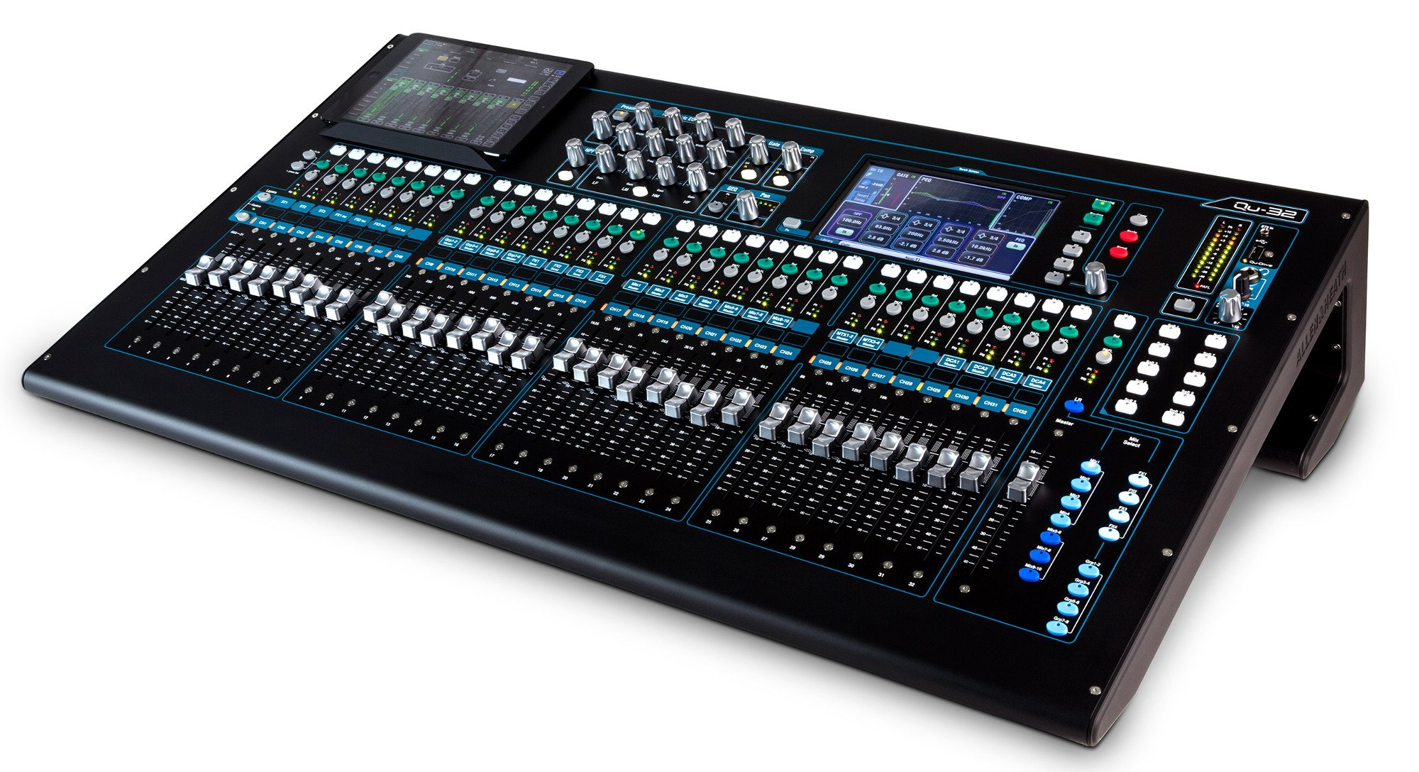 Qu Series Chrome Edition 38-in/28-out Digital Mixing Console