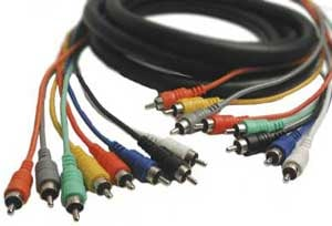 8-Channel Snake Cable, RCA Male to RCA Male, 9.9 Feet