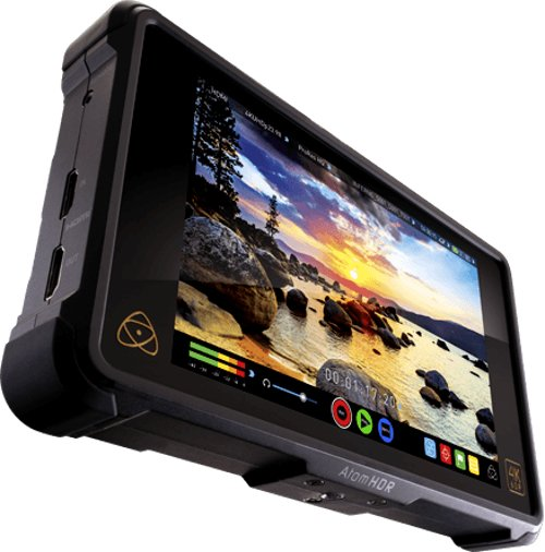 "Atomos ATO-MSHGIN2  7"" 4K HDMI/Quad 3G-SDI/12G-SDI Recording Monitor  ATO-MSHGIN2"