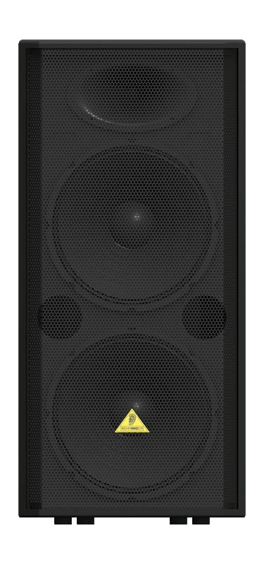 """Professional 2000-Watt PA Speaker with Dual 15"""" Woofers and 1.75"""" Titanium-Diaphragm Compression Driver"""