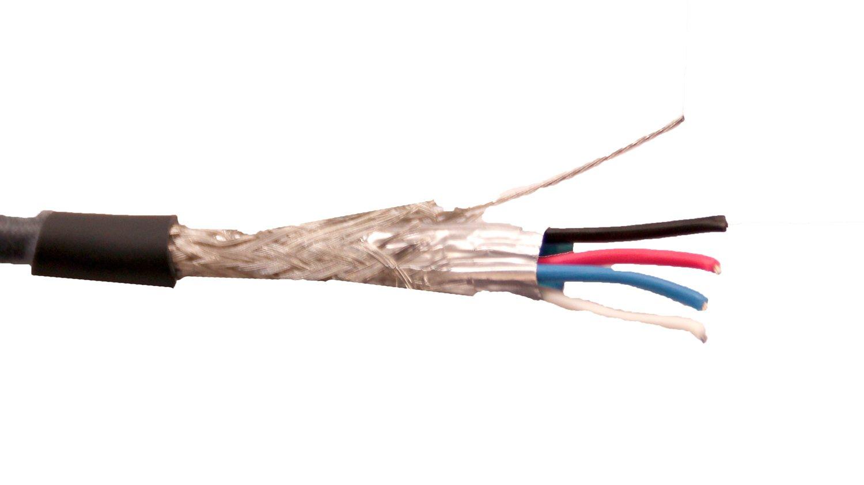 50ft Segment of 24 AWG High Bandwidth DMX Lighting Cable