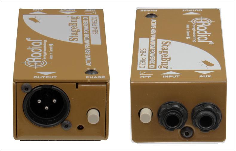 Compact Active DI for Peizo Transducers