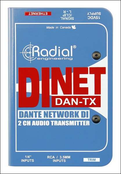 Dante DI transmitter