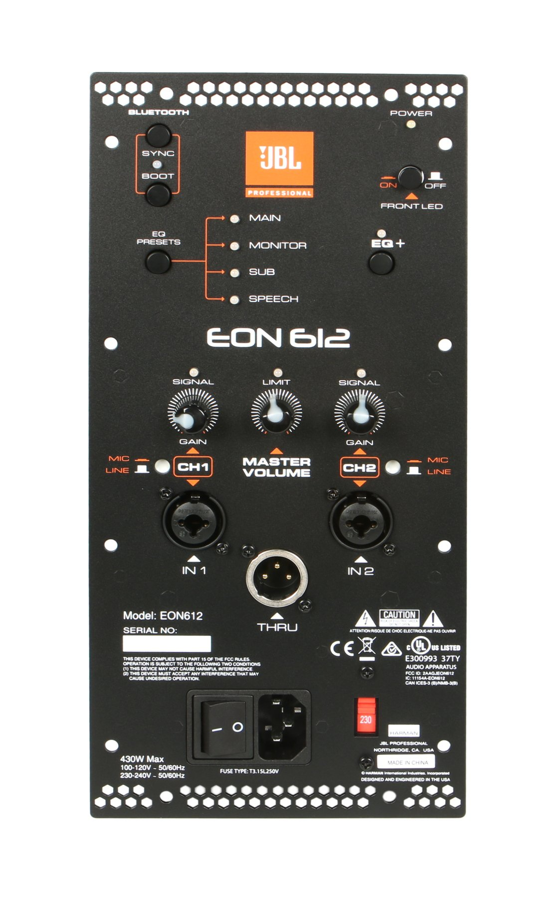 EON612 Amp Assembly