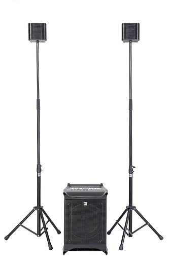 Ultra-Compact Portable PAt with Stereo Pole Set