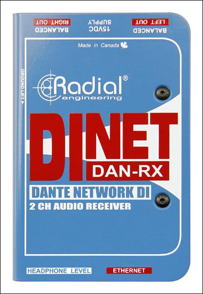 Dante DI receiver
