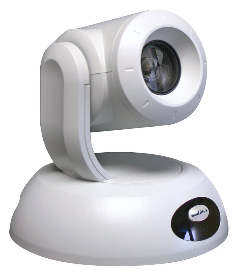 High-Performance HD PTZ Camera in White
