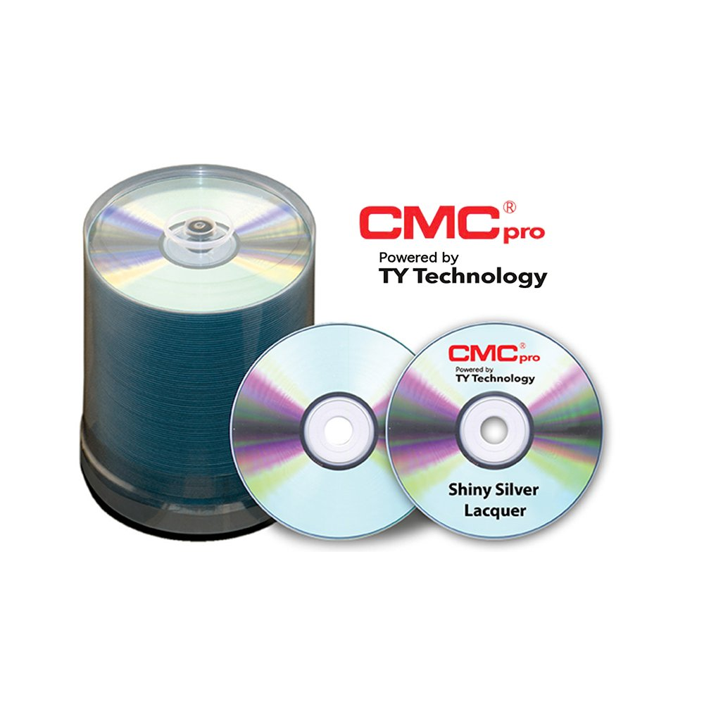 CD-R, 52X, Silver Thermal Lacquer, 100 Disc Spindle