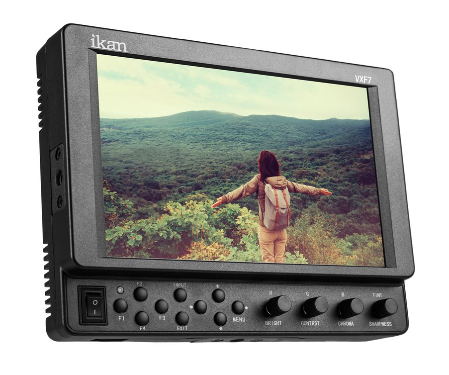 "7"" 4K Full HD HDMI / 3G-SDI On-Camera Monitor"