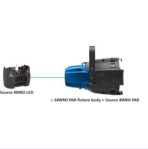 Black Fixture Body Only