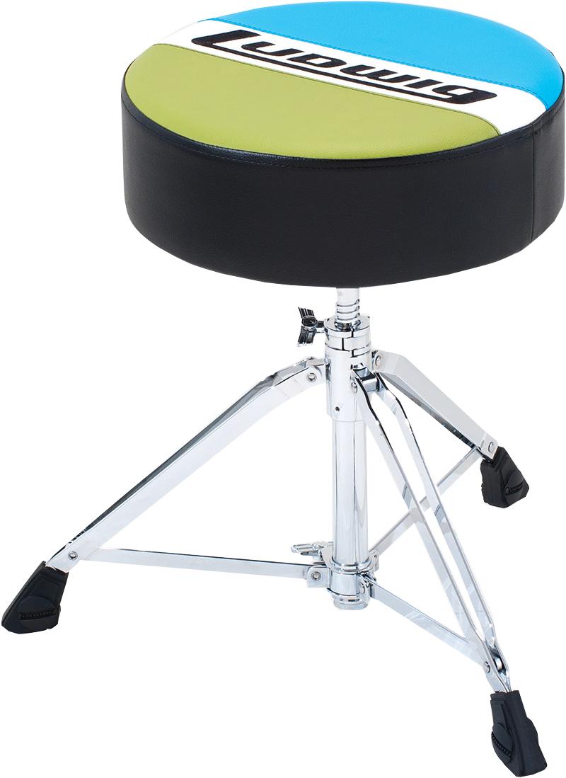 Round Atlas Classic Drum Throne