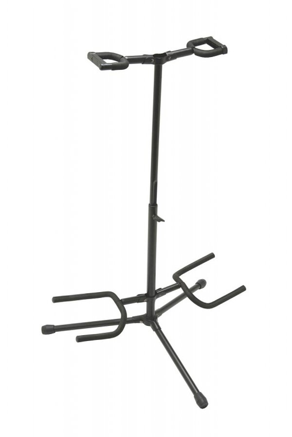 Deluxe Folding Double Guitar Stand