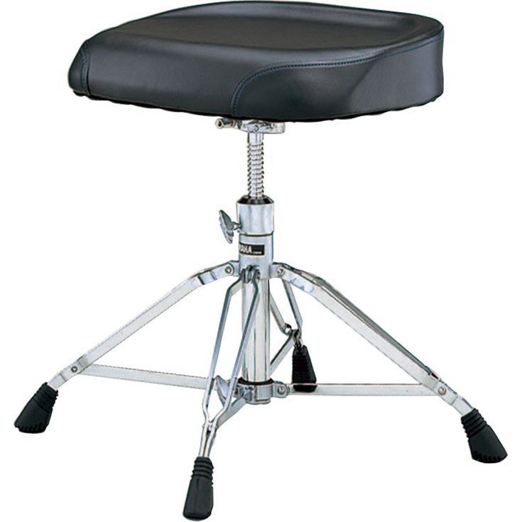 Heavyweight Drum Throne with Double-Braced Legs and Bench-Style Seat